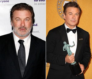 Alec Baldwin flaunts dramatic weight loss