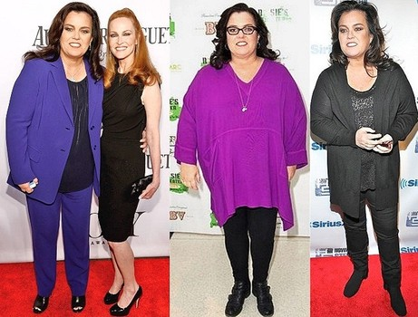 Rosie O'Donnell weight loss secrets