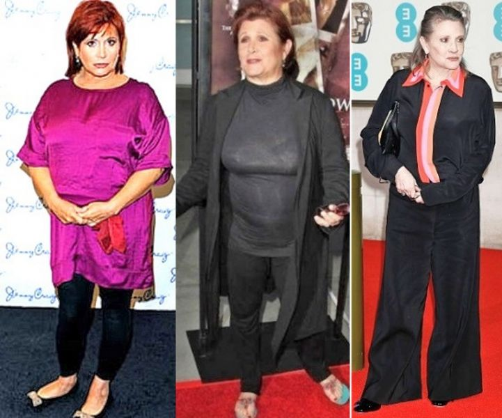 Carrie Fisher Fires Back at 'Star Wars' Weight Loss Drama ...