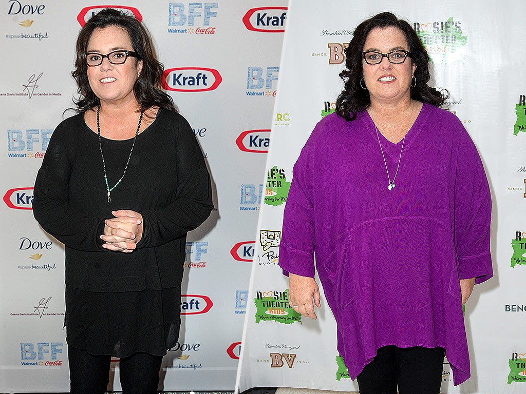 How Rosie O'Donnell Lost 64 Lbs