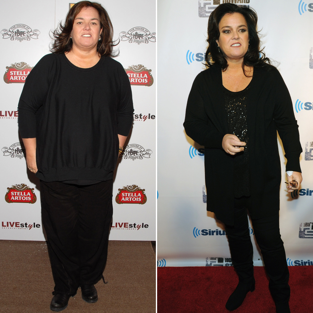 Rosie O'Donnell Shows Off Her Impressive 50-Pound Weight Loss
