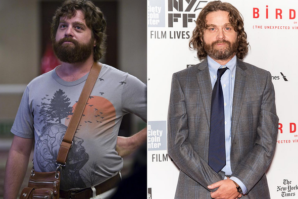 It appears that Zach Galifianakis is no longer a funny fat man