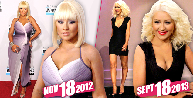 Christina Aguilera's Extreme 80 Pound Weight Loss