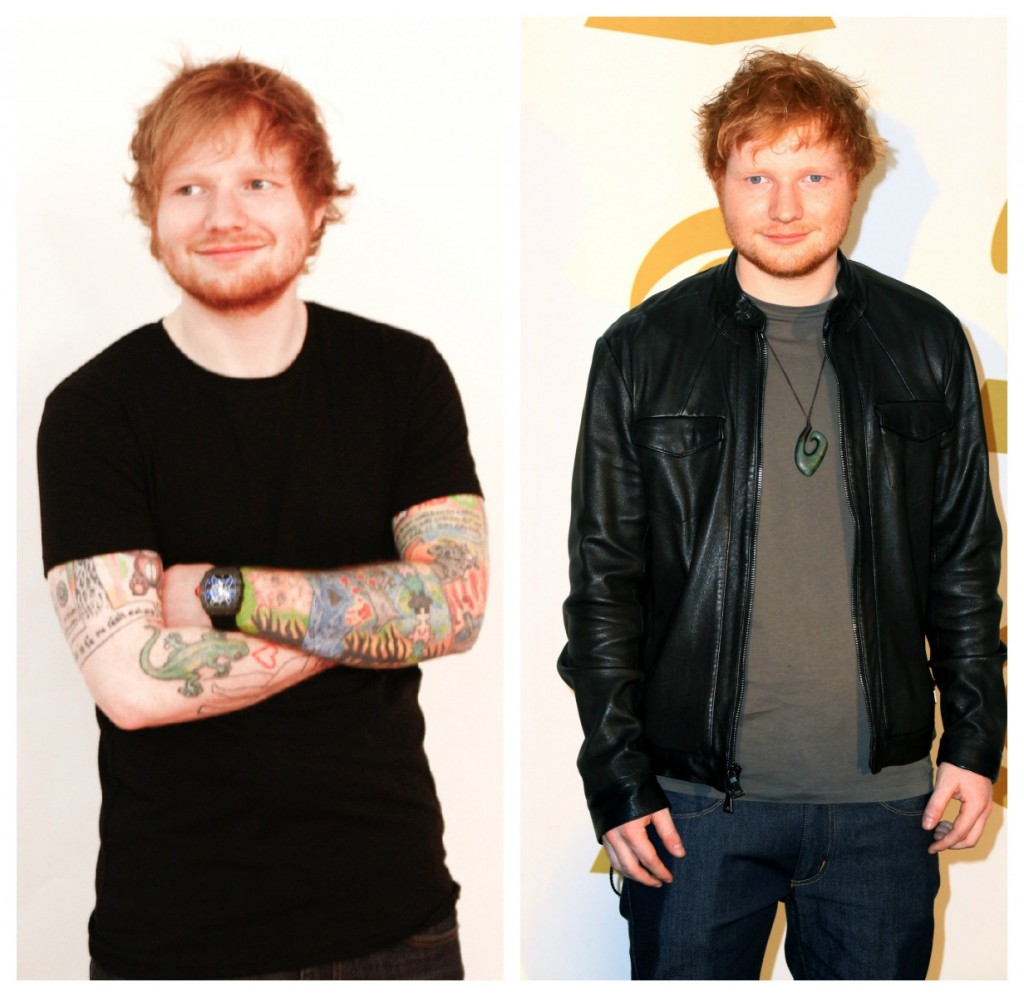 Ed Sheeran Lost Three Shirt Sizes by Drinking Green Juices ...