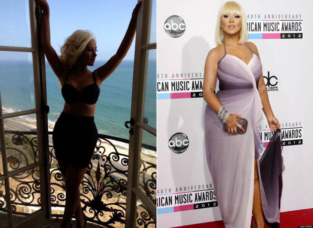 Christina Aguilera Reveals Diet Secrets
