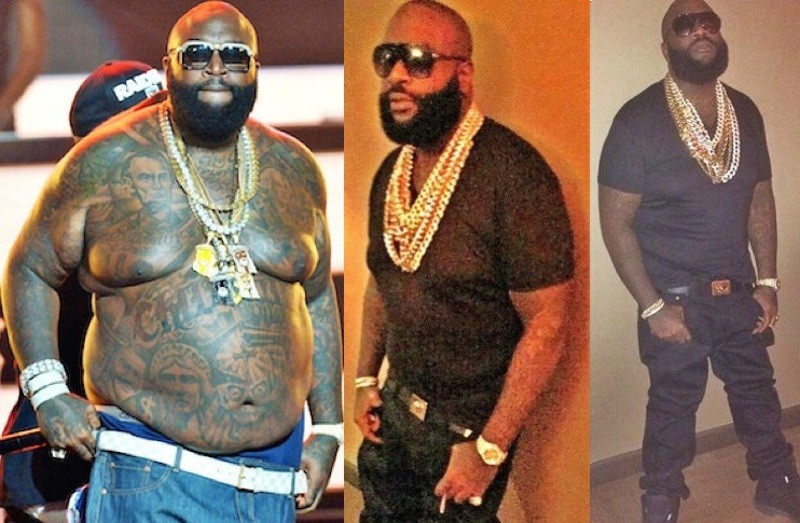 Rick Ross credits CrossFit workouts for 100-pound weight loss