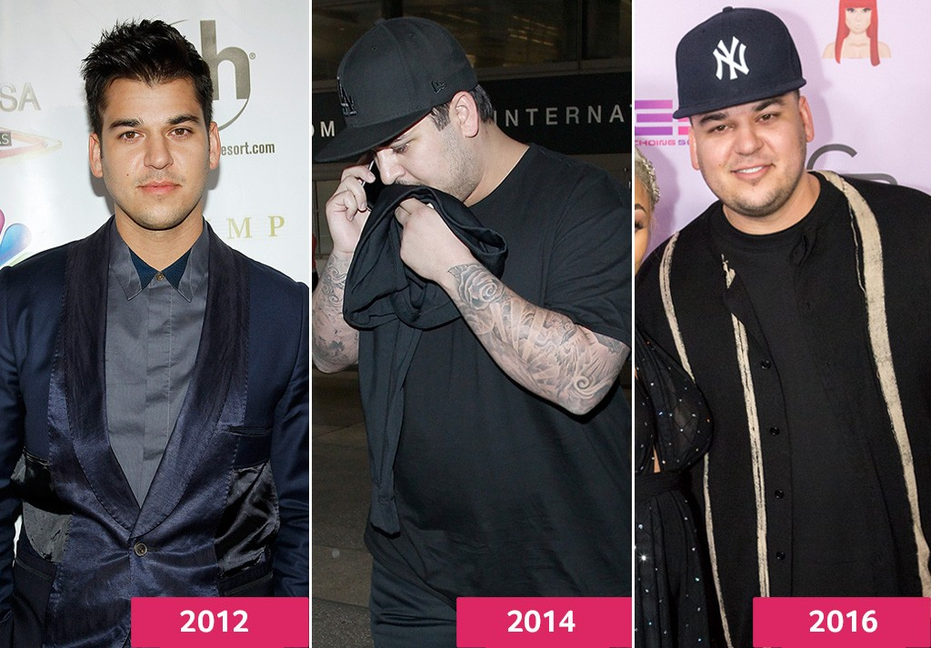 Rob Kardashian Shares Dramatic Transformation