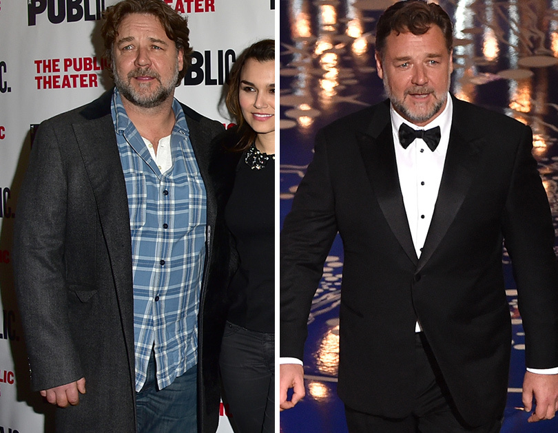 Russell Crowe Reveals He's Lost a Whopping 52 Pounds