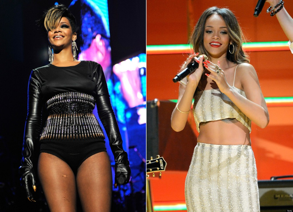 Weight Loss: Rihanna Slimmed Down