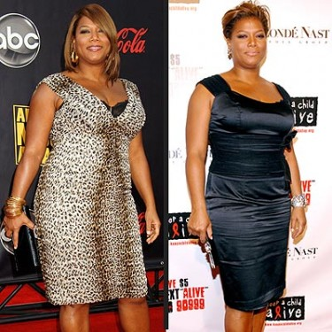 Queen Latifah Before and After