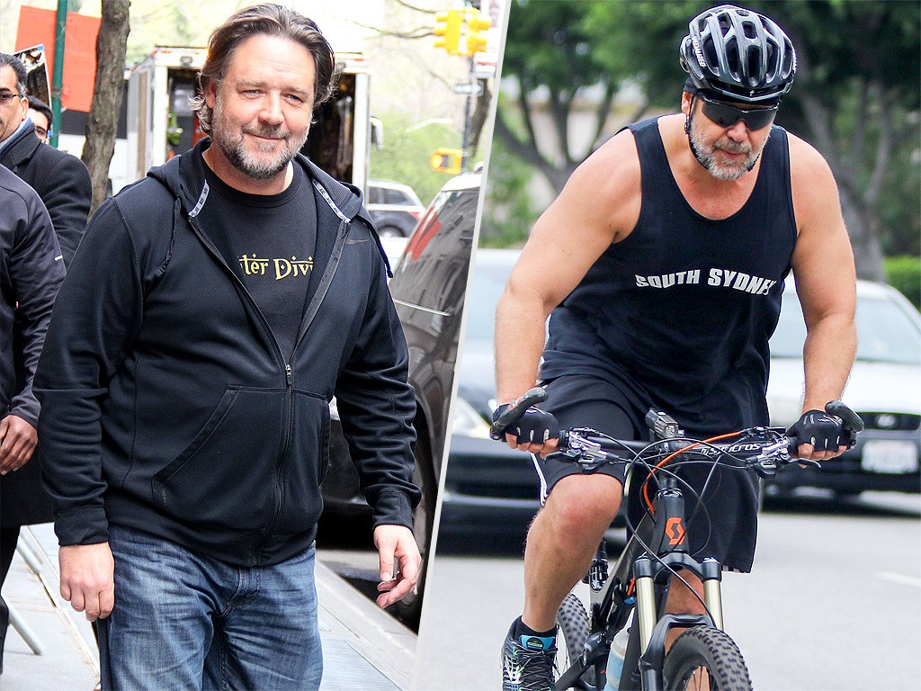 Russell Crowe Dishes on Losing Weight After Beefing up for Film