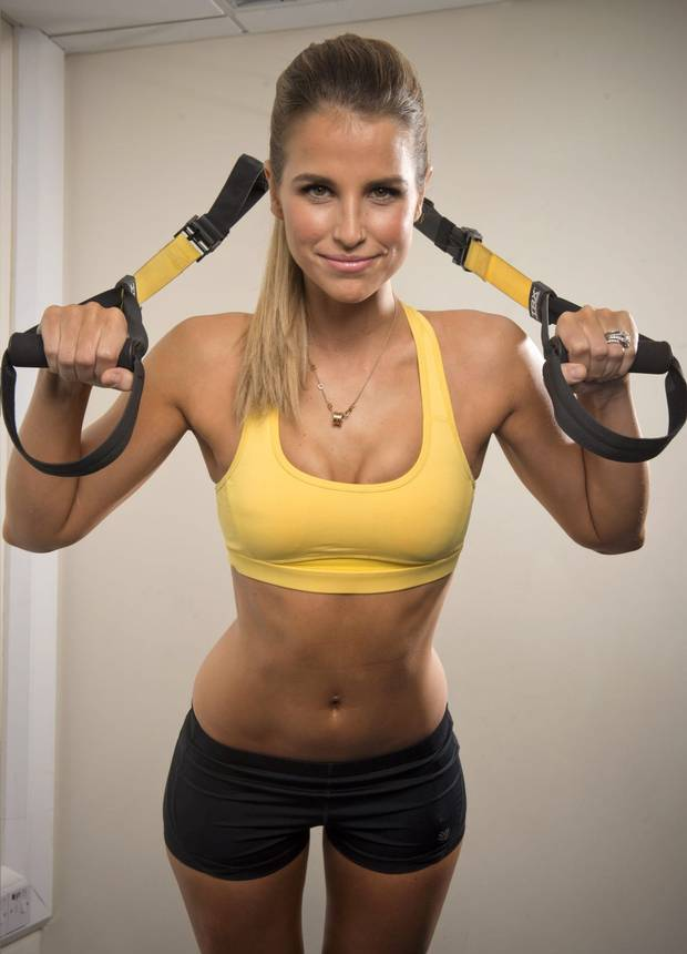 Vogue Williams' fitness videos