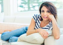 needs approval for futher use  maddessi@hstrategies.com  Hollywood At Home - Bethenny Frankel Bethenny Frankel ©Larsen&Talbert2015       Photographers Bethenny Frankel, photographed at her home in Long Island, NY on June 30th, 2015 by Larsen & Talbert. hair: DJ Quintero/Jed Root; makeup: Deanna Melluso/The Wall Group; styling: Julia Kitziger; prop styling: Aaron Kirsten.