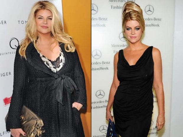 Kirstie Alley Talks Weight Loss