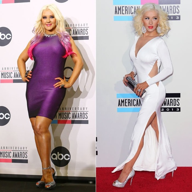 Christina Aguilera talks about her weight loss success