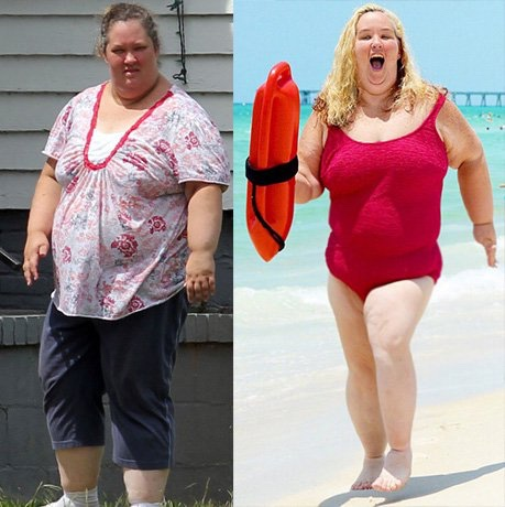 Mama June looks hot thanks to diet pills.