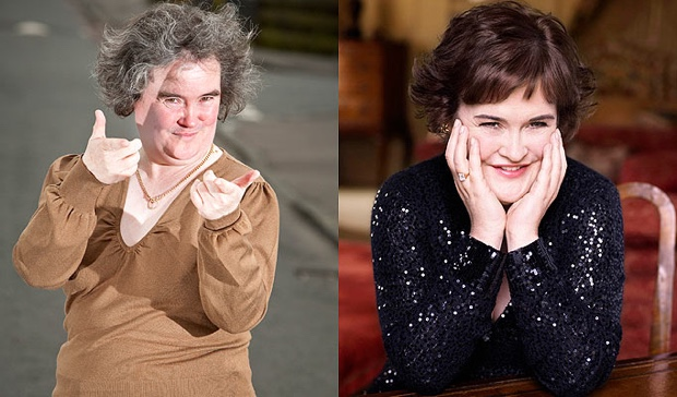 Susan Boyle discusses her weight loss success